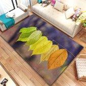 Halımax İnda Pvc Deri Taban Ebat Seçenekli 483 Renkli Yapraklar