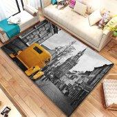 Halımax İnda Pvc Deri Taban Ebat Seçenekli 441 Yellow Car Desen