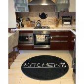 Halımax Fame 199 Kitchen Desen PVC Kaymaz Taban Yuvarlak