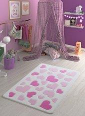 Confettı Halı Sweet Love 100x150 Pembe Oymalı