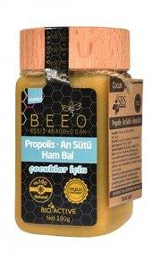 Beeo Bee'o Propolis Arı Sütü Ham Bal (Çocuklar İçin) 190 Gr.