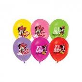 Minnie Mouse Baskılı 6lı Balon Lisanslı
