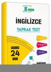 8.Sınıf İngilizce 24 Yaprak Test Ankara Yayıncılık