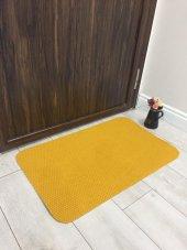 Kaymaz Taban Kapı Önü Paspası Sarı
