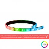 Dark 35cm Ultra Bright 21x Rgb Led Şerit (Rgb Kit İle Uyumlu) (Dkcfled)