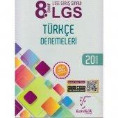 Karekök Yayınları 8.Sınıf Türkçe 20 Deneme