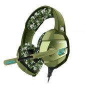 Kulaklık Rampage Rm K5 Camuflaje Kamuflaj Renkli 7.1 Surround Sound System Usb Mikrafonlu