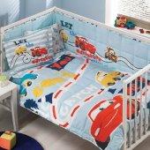 Taç Lisanslı Bebek Uyku Seti Cars Arabalar Baby