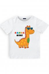 Kanka Kids Dino Baskılı Erkek Çocuk Penye...