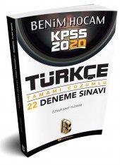 Benim Hocam Yayınları 2020 Kpss Türkçe Tamamı...