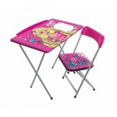 Kız Çocuk Ders Çalışma Masası Sandalye Seti...