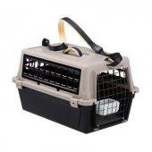 Ferplast Atlas 10 Trendy Açık Kedi Köpek Taşıma Kabı - Kahverengi
