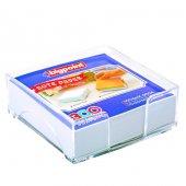 Bigpoint Akrilik Küp Notluk Dolu Beyaz 95x95mm