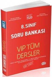 Editör 8. Sınıf Vip  Tüm Dersler Soru Bankası Kırmızı Kitap