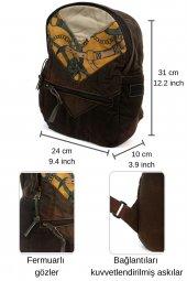 Old Cotton Cargo 4028 KC Veta Bag Tablet - Sırt Çantası-5