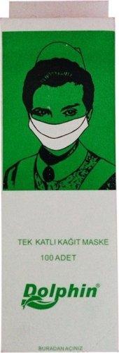 Dolphın Tek Kulanımlık Maske 100 Ad