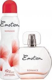 Emotion Romance EDT Kadın Parfüm 50 ml & Deodorant 150 ml-2
