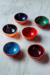 6lı Morocco Renkli Kase Seti