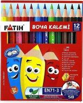 Fatih 33012 1 2 Boy Boya Kalemi 12 Renk