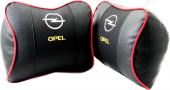 Opel Uyumlu Geniş Havalı Deri Boyun Ve Seyahat Uyku Yastığı 1adet