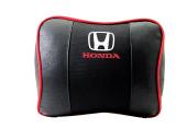 Honda Geniş Havalı Deri Boyun Ve Seyahat Uyku Yastığı 1 Çift