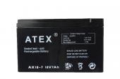 Atex Ax 12v 12ah Bakımsız Kuru Akü