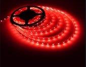 Iç Mekan Kırmızı Şerit Led 3 Çip (5 Mt)