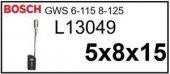 El Aleti Kömürü Bosch Gws 6115 8125 L13049