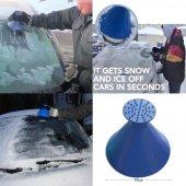 araba sihirli cam araba buz kazıyıcı şekilli huni kar temizleyici-6