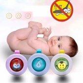 Doğal Güvenli Sivrisinek Kovucu Düğmeler Bebek Çocuk Uyku