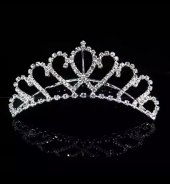 Kraliçe Saç Tokası Geline Uygun Çok Muhteşem...