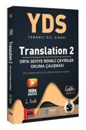 Yargı Yayınları YDS Translation 2 Orta Seviye Renkli Çeviriler Ok