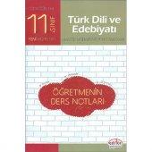 11. Sınıf Türk Dili ve Edebiyatı Öğretmenin Ders Notları Editör Y