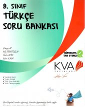 Koray Varol Akademi 8. Sınıf Türkçe Soru Bankası