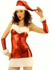 Fantezi Noel Kostüm Elbise
