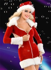 Seksi Kadife Noel Kostüm