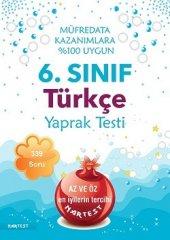Nartest 6. Sınıf Türkçe Yaprak Test