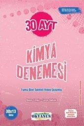 AYT 30 Kimya Denemesi Okyanus Yayınları