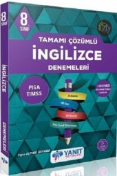 Yanıt Yayınları 8. Sınıf İngilizce Tamamı Çözümlü Denemeleri