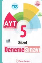 Palme Yayınları AYT Sözel 5 Deneme Sınavı