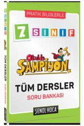 7. SINIF OKULDA ŞAMPİYON TÜM DERSLER SORU BANKASI