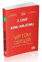 3. Sınıf Tüm Dersler Vıp Konu Anlatımlı Kırmızı Kitap Editör Yayı