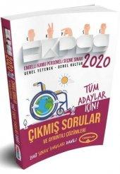2020 EKPSS Tüm Adaylar İçin Çıkmış Sorular Yediiklim Yayınları