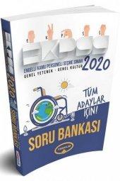 Yediiklim Yayınları 2020 EKPSS Tüm Adaylar İçin GY GK Soru Bankas