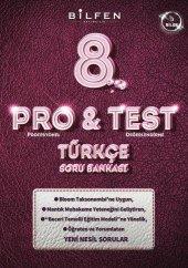 8. Sınıf Türkçe ProTest Soru Bankası Bilfen Yayıncılı