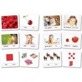 Zeka Yayınevi Bebek Kavram Kartları - (16-48 Ay) Sağ Beyin Zeka K-2