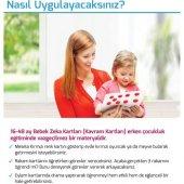Zeka Yayınevi Bebek Kavram Kartları - (16-48 Ay) Sağ Beyin Zeka K-5