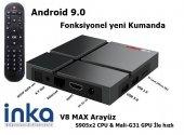 V8 Max 4gb Ram 32gb Rom Bluetooth Android 9 Tv...