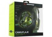 Rampage RM-K5 Kamuflaj 7.1 Surround Sound System USB Oyuncu Kulaklığı-6