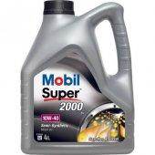 Mobil Süper 2000 X1 10w 40 4lt Benzin Ve Dizel Motor Yağı